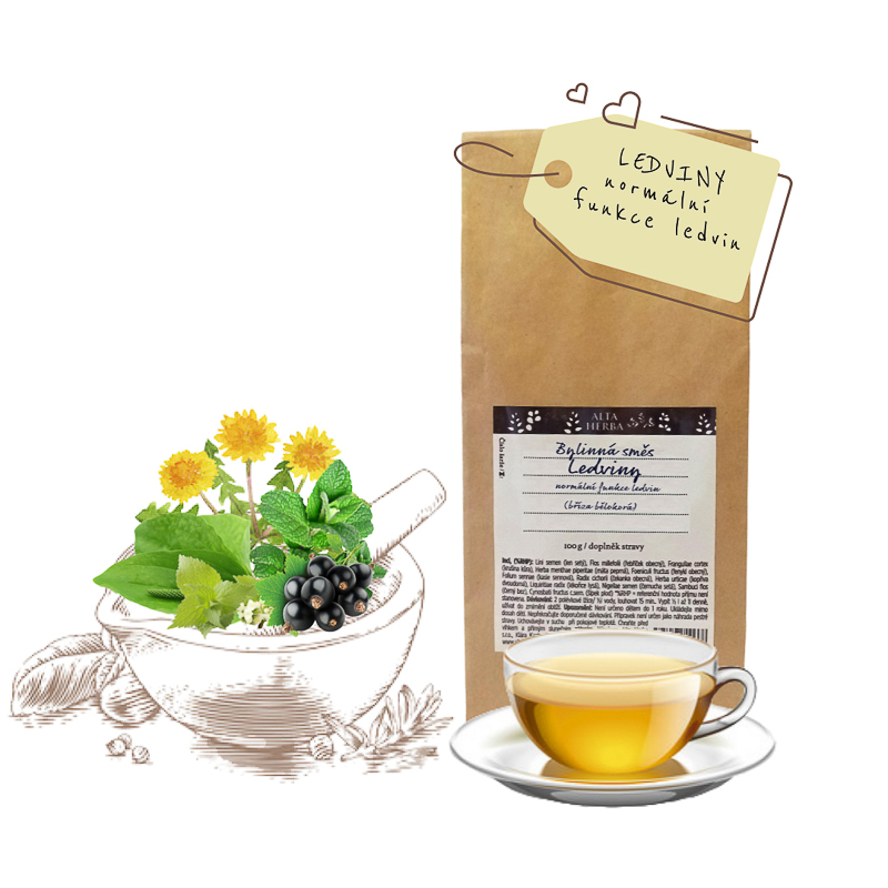 Bylinná čajová směs ledviny