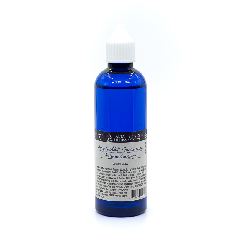 Hydrolát Geranium - Bylinná voda