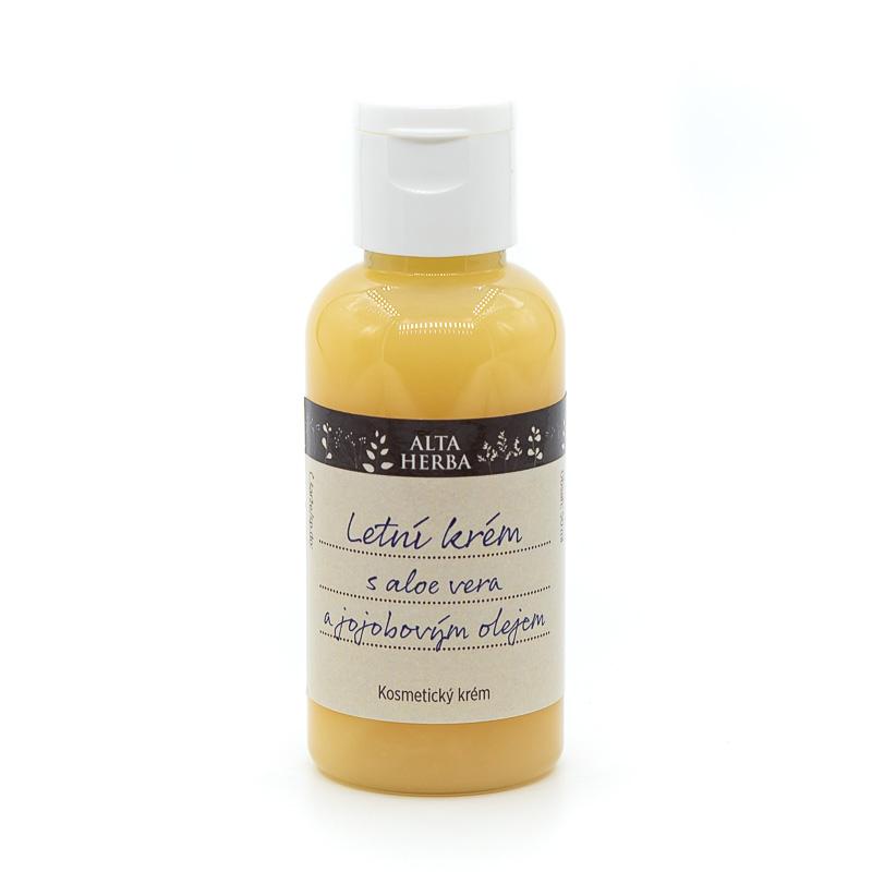 Letní krém s aloe vera a jojobovým olejem