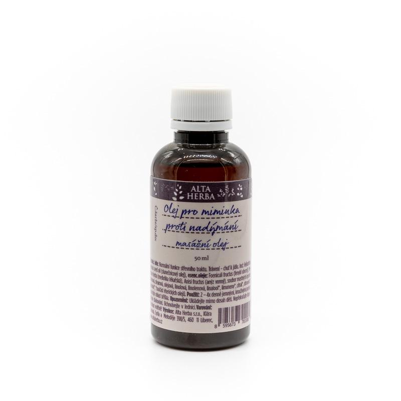 Olej pro miminka - proti nadýmání