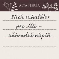 Stick inhalátor pro děti - náhradní náplň