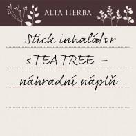 Stick inhalátor s TEA TREE - náhradní náplň
