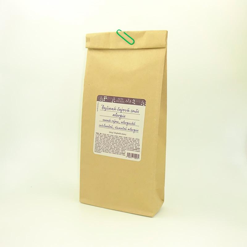 Bylinná čajová směs - alergie (senná rýma, alergické zahlenění, sluneční alergie...)