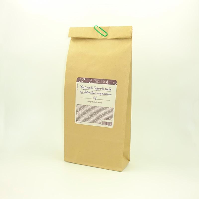 Bylinná čajová směs na detoxikaci organismu