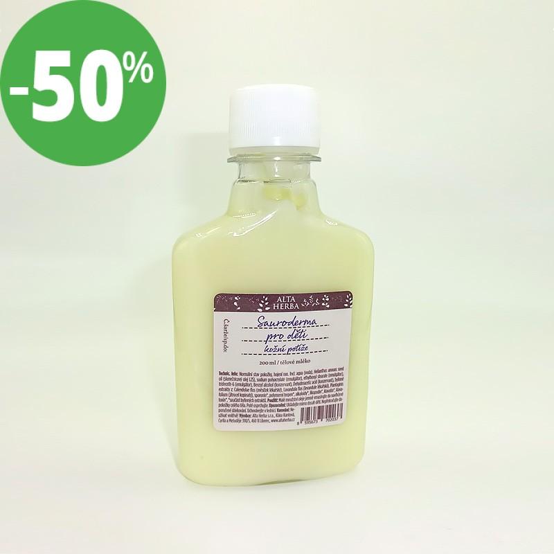 Tělové mléko Sauroderma pro děti