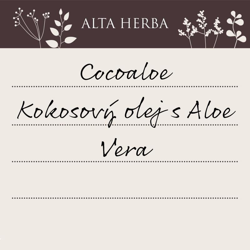 Cocoaloe - kokosový olej s aloe vera