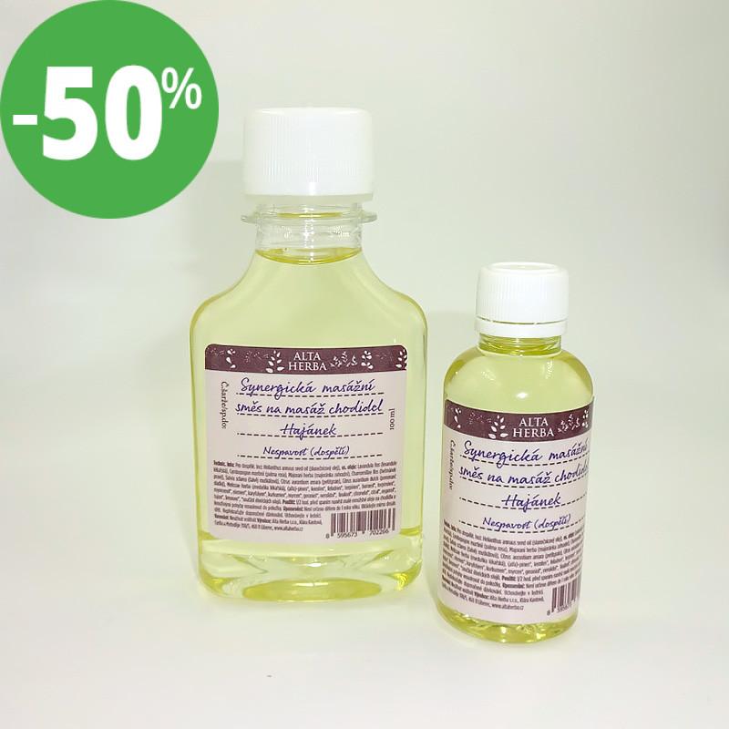 Synergická masážní směs na masáž chodidel hajánek (pro dospělé)